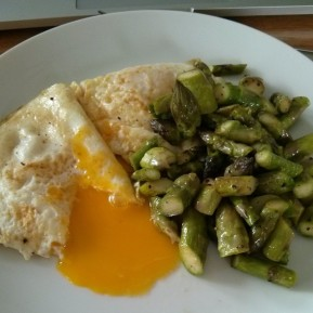 Eggs and Asparagus