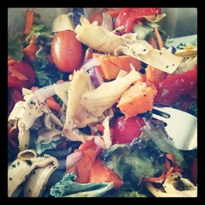 Whole Foods garbage salad - all Paleo