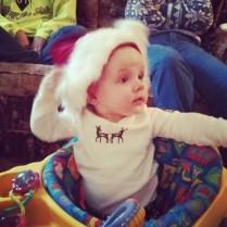 My grandniece being fabulous.